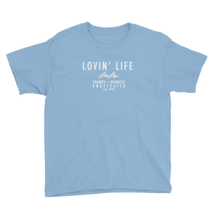 LOVIN' LIFE MEMBERS ONLY Classic Youth Short Sleeve T-Shirt