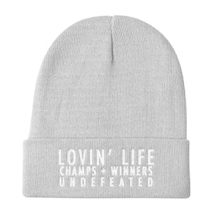 LOVIN' LIFE MEMBERS ONLY Classic Knit Beanie