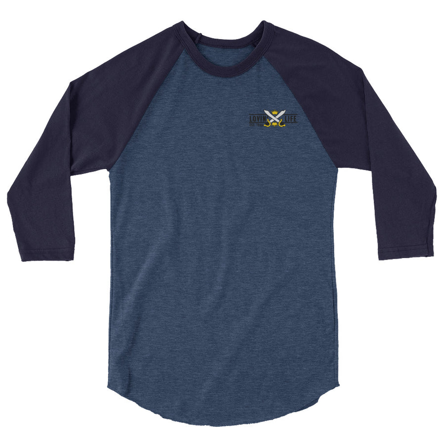 LOVIN' LIFE MEMBERS ONLY - GOLDEN HALO 3/4 sleeve shirt