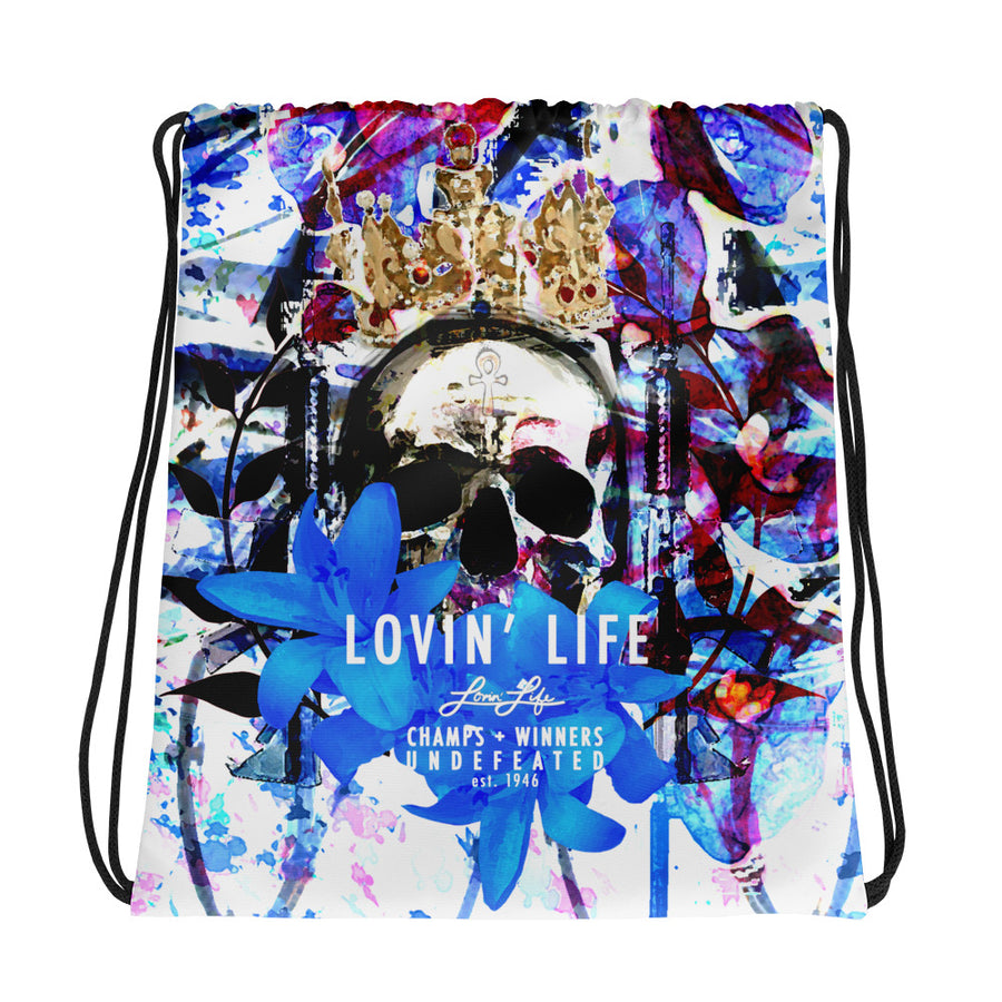 LOVIN' LIFE MEMBERS ONLY - DIVINITY CRES Drawstring bag
