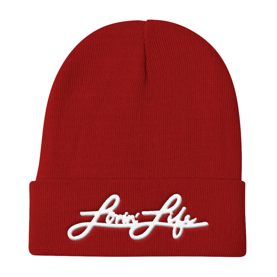 Lovin' Life - logos - 3d Puff embroidered Beanie