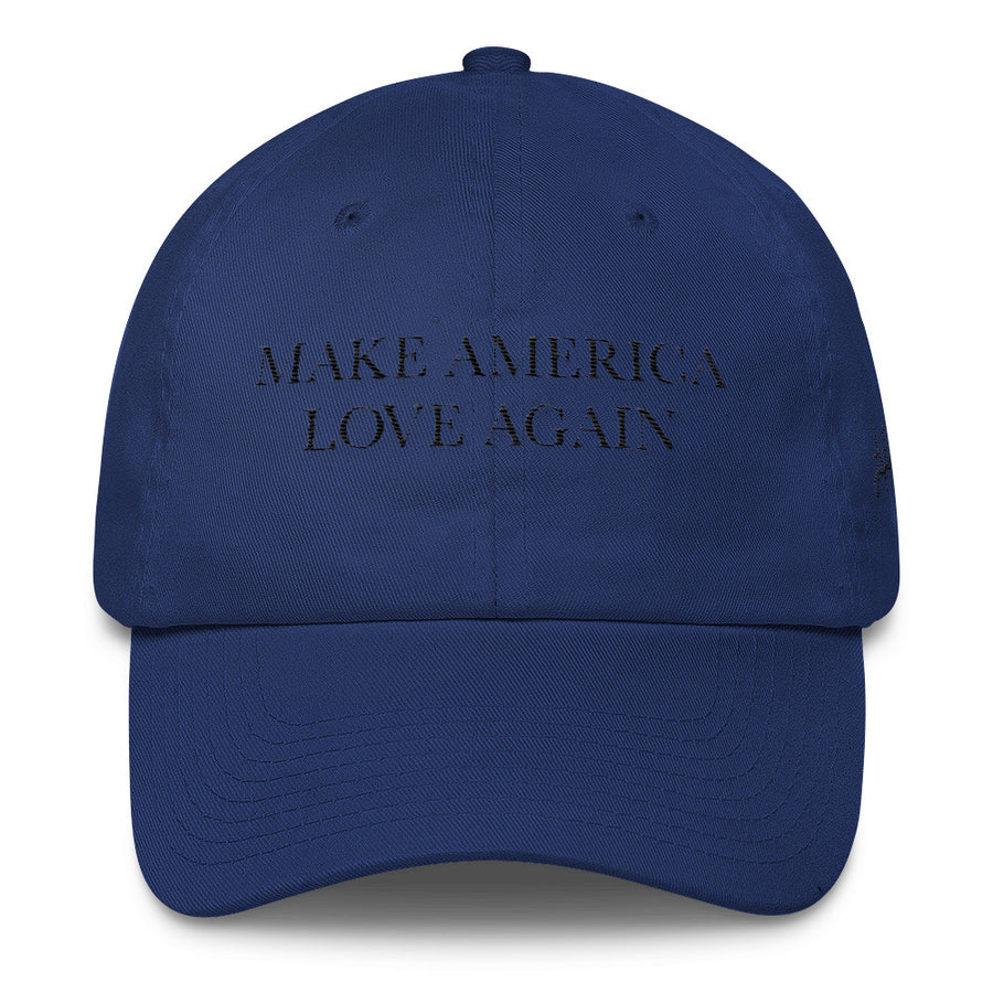 Make America LOVE Again embroidered DAD hat