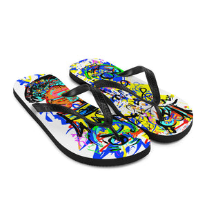 LOVIN' LIFE - SPAGE AGE COLLECTION Flip-Flops