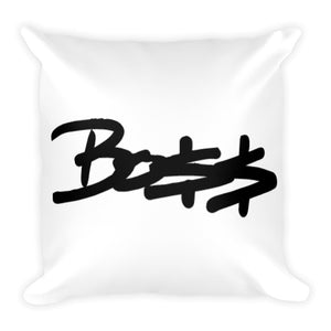 "Boss Square Pillow 18""x18"""