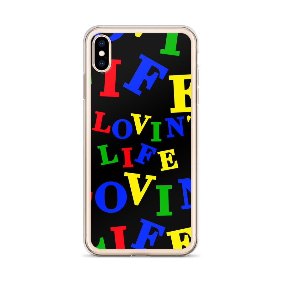 LOVIN' LIFE - Crayolo - iPhone Case