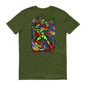 LOVIN' LIFE -BAG RUN 3 - SPACE COLLECTION T-SHIRT