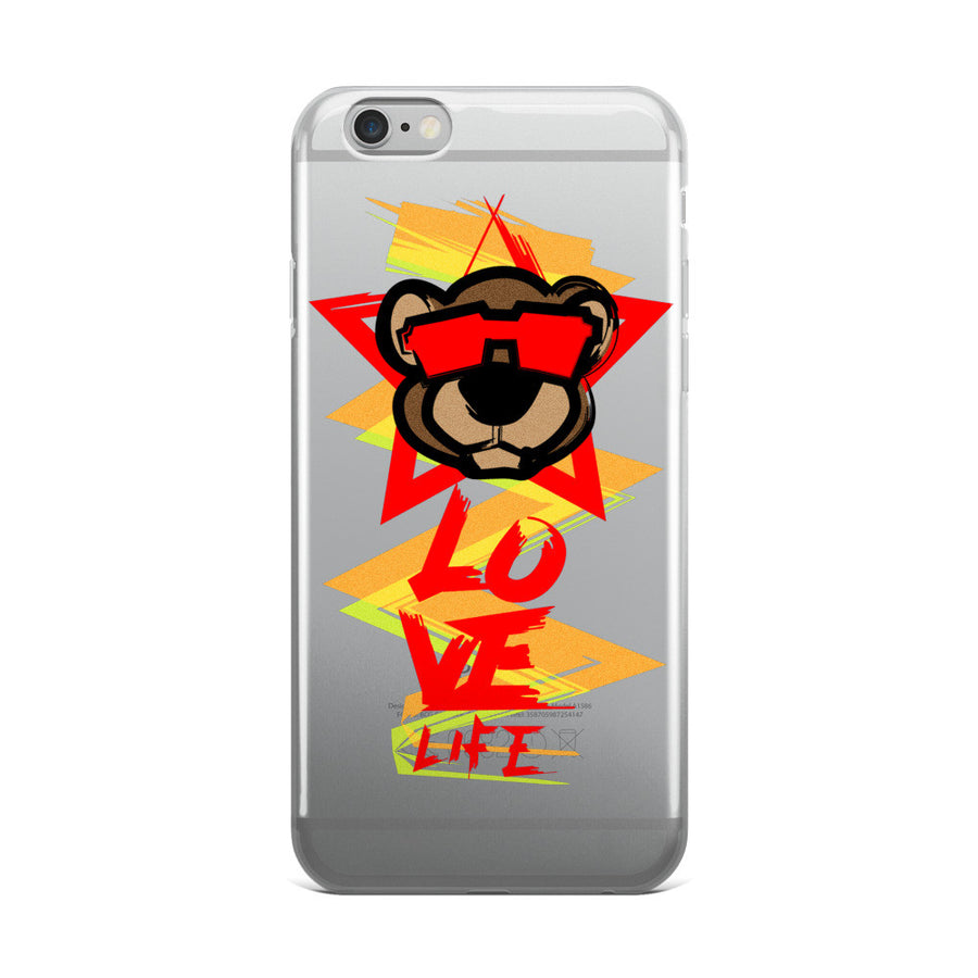 Leo Lion 2 iPhone 5/5s/Se, 6/6s, 6/6s Plus Case