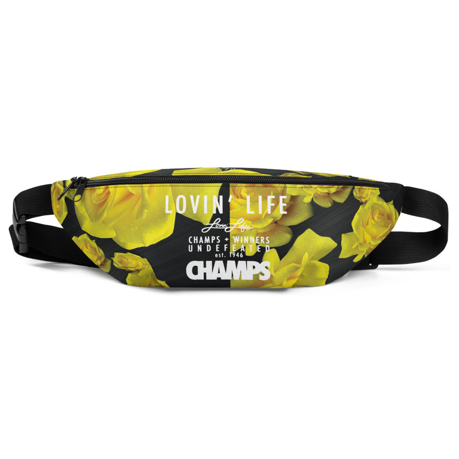 LOVIN' LIFE MEMBERS ONLY- Rosey Yellow - Fanny Pack