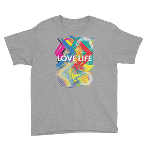 Youth Love Life artsy T-Shirt