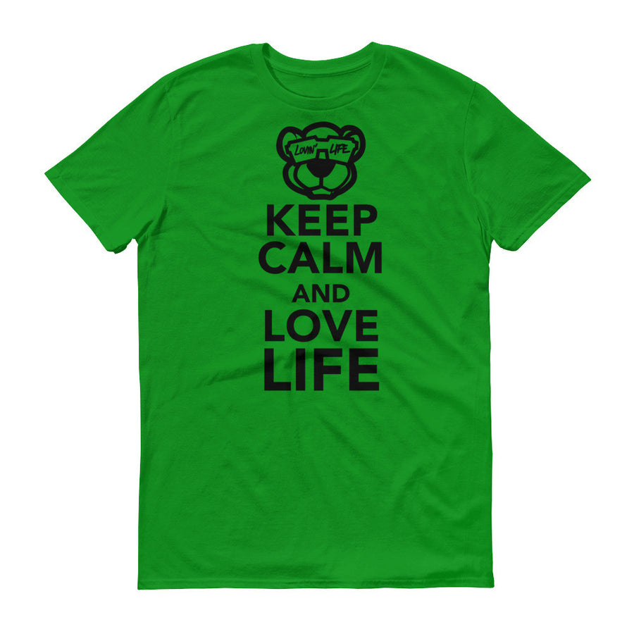 Keep calm and love life t-shirt