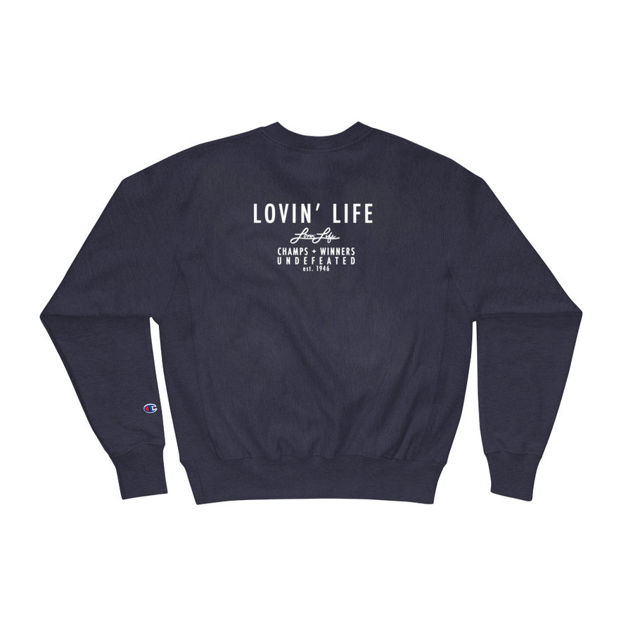 Lovin' Life x Champs Members Only - CHAMPS RAZORS & CUBAN LINXS 01 Sweatshirt