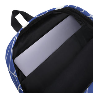 OWNERS X LOVIN' LIFE - FULL PRESS COLLECTION - LAPTOP/Gym size Backpack - blu