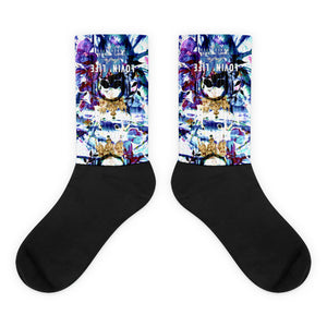 LOVIN' LIFE MEMBERS ONLY - DIVINITY CRES Socks - 01