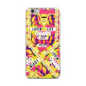 LOVIN' LIFE MEMBERS ONLY - CHAMPS RAZORS & CUBAN LINXS 01 - iPhone Case