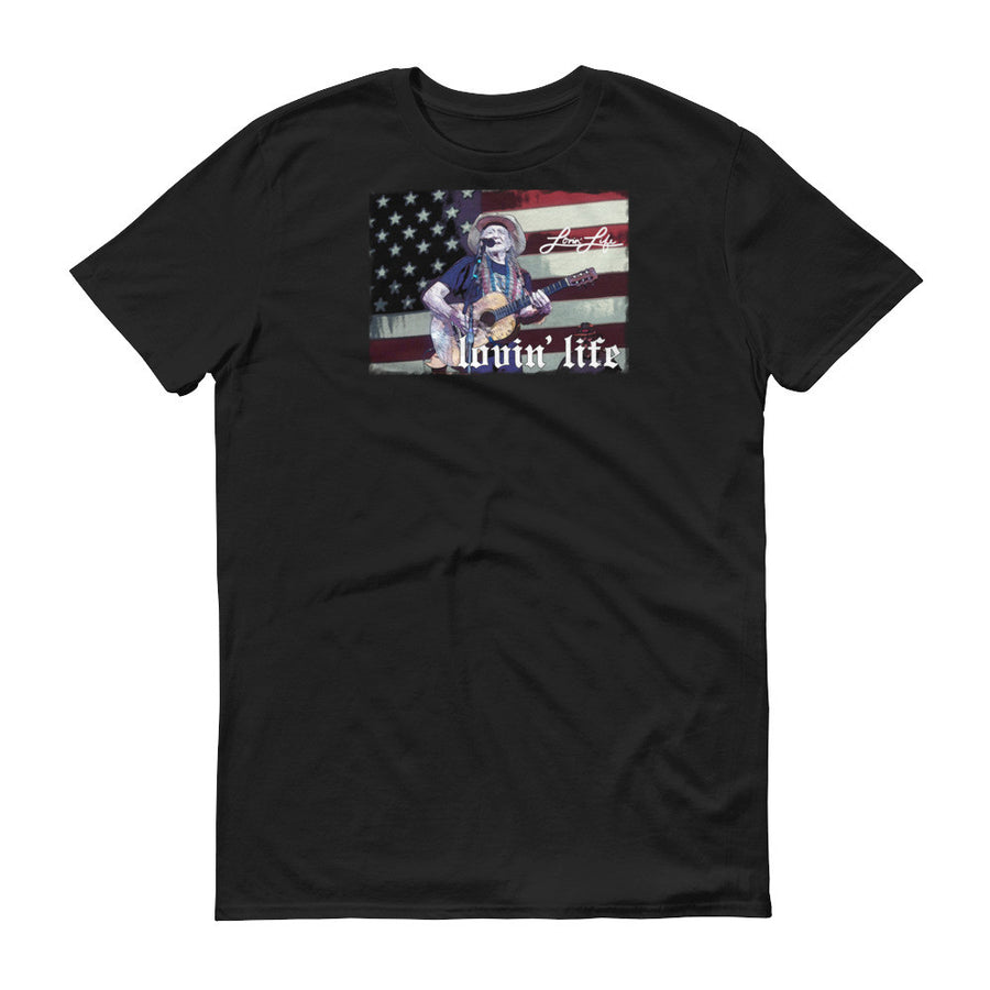 Lovin' Life willy amer ican t-shirt