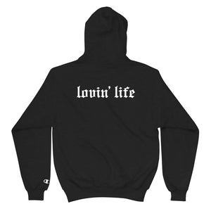 LOVIN' LIFE X CHAMPION MEMBERS ONLY Hoodie