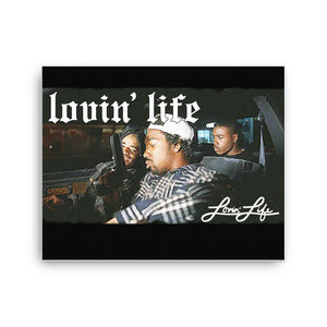 Lovin' Life Society Canvas print 16x20