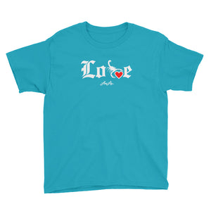 Youth Lovin' Life - SELF LOVE - red heart T-Shirt