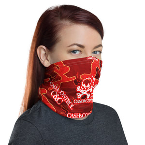Cash&Control - Camo Red NECK GAITER