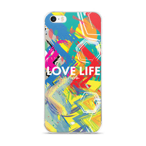 Love Life artsy iPhone 5/5s/Se, 6/6s, 6/6s Plus Case