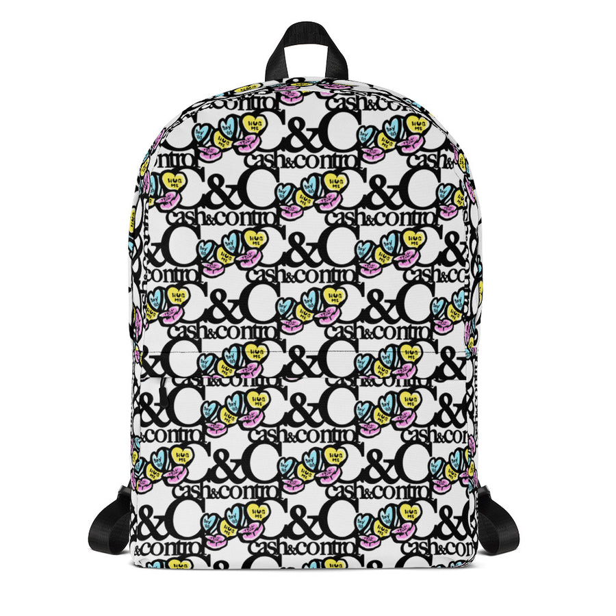 C&C candy hearts Laptop/Backpack