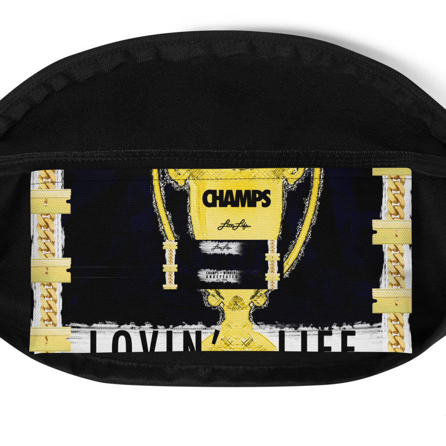 LOVIN' LIFE CHAMPS MEMBERS ONLY - CHAMPS RAZORS & CUBAN LINXS - Fanny Pack
