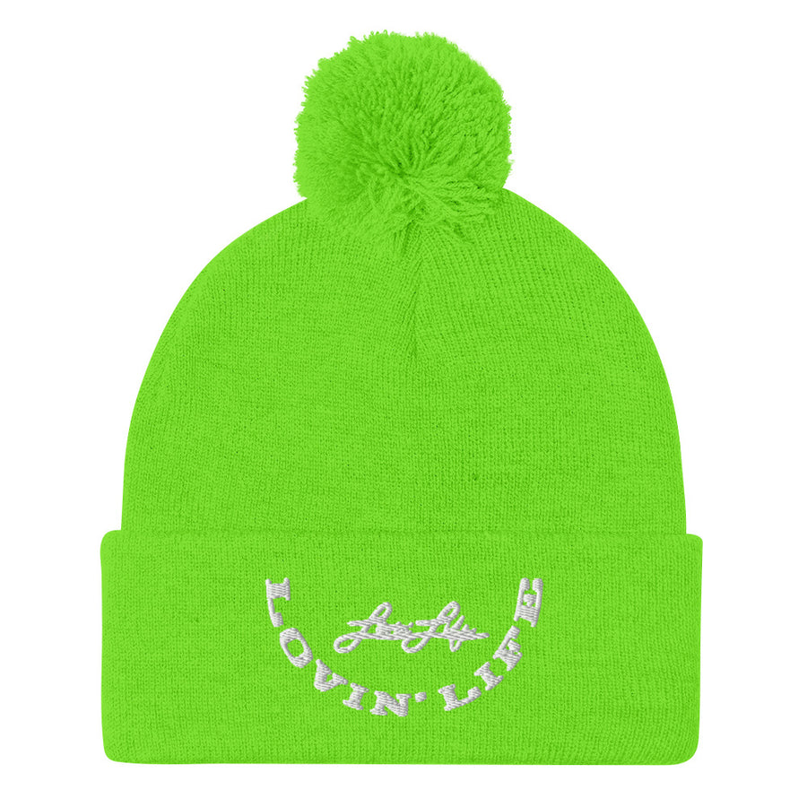 Lovin' Life - Grit - FALL Collection Pom-Pom Beanie
