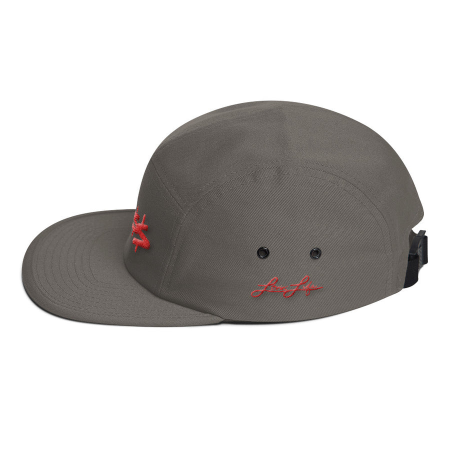Boss red 3D-Puff embroidered Five Panel Cap