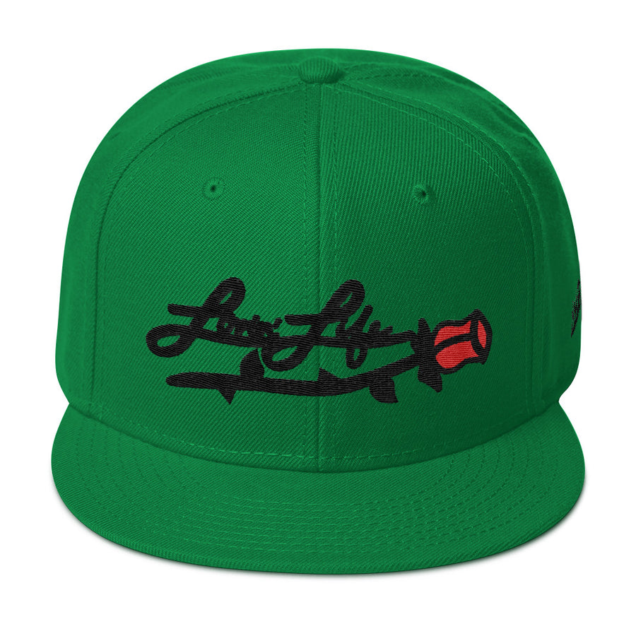 Lovin' Life Rosey red Snapback Hat