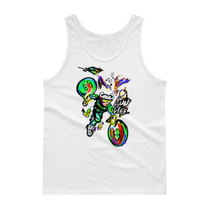 LOVIN' LIFE -BAG RUN - SPACE COLLECTION - Tank top