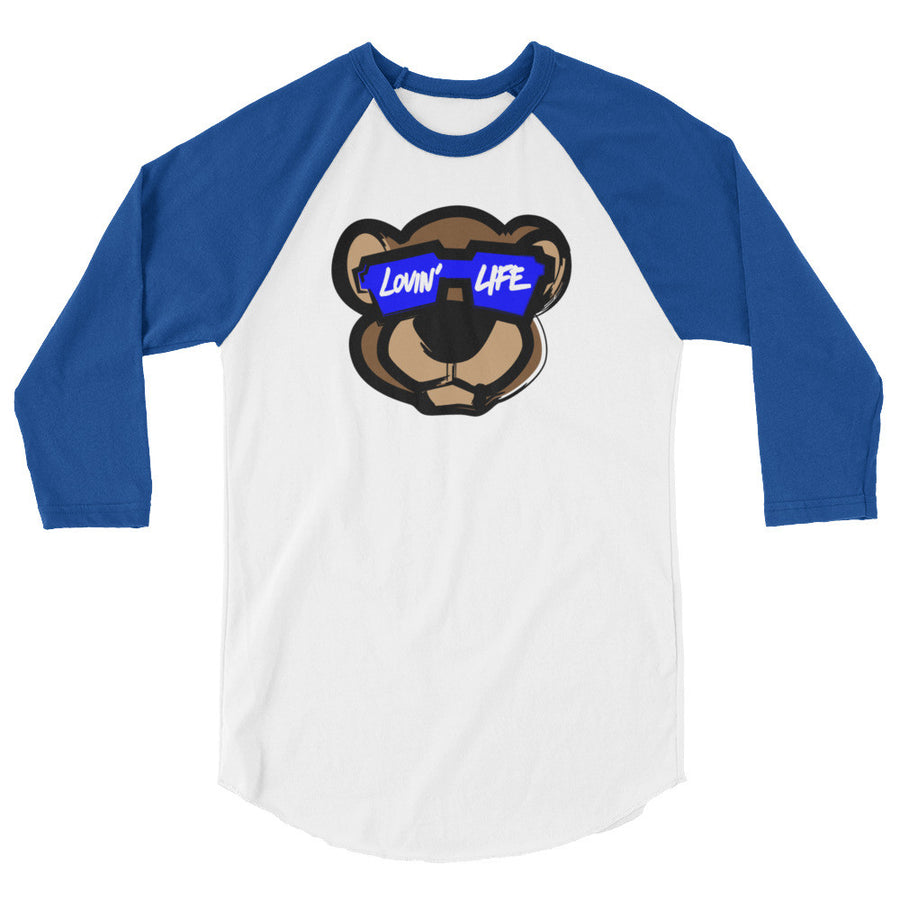Leo Lion cool blu Cap 3/4 sleeve shirt