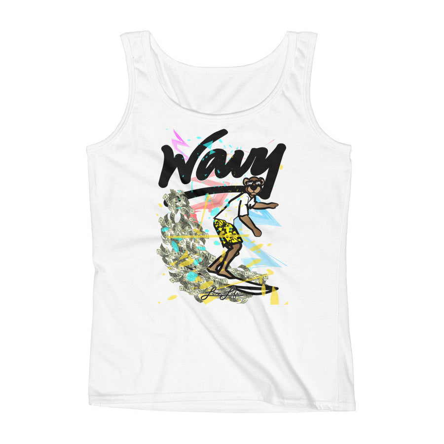 Ladies WAVY Leo Lion cub Tank