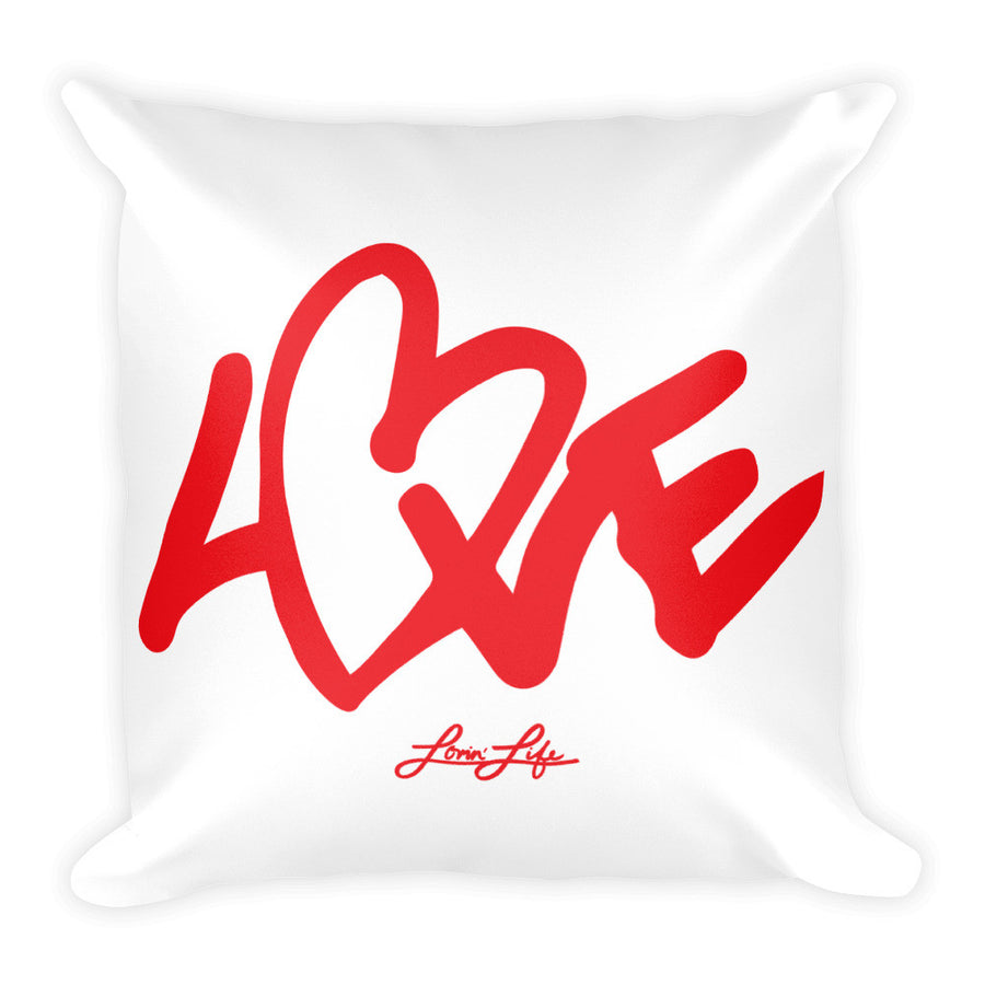 Love Square Pillow 18x18
