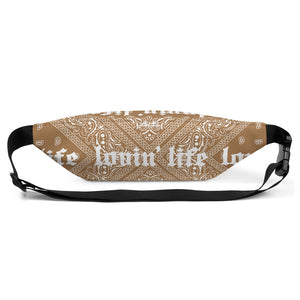 LOVIN' LIFE - EL HEFE BROWN - Fanny Pack