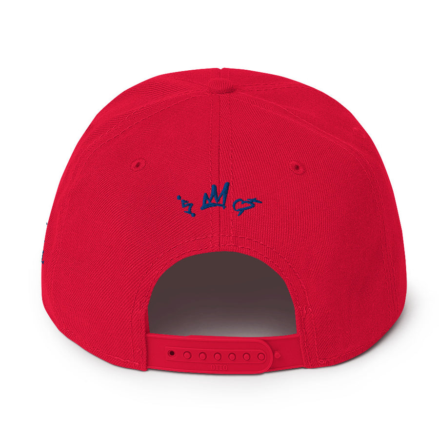 C&C red stripe Snapback Hat