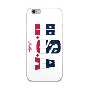 USA iPhone 5/5s/Se, 6/6s, 6/6s Plus Case