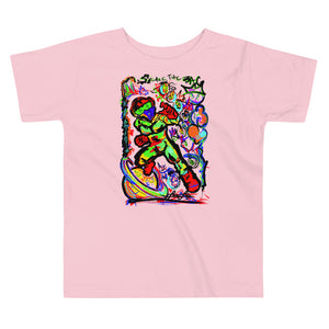 LOVIN' LIFE -BAG RUN 3 - SPACE COLLECTION - Toddler Short Sleeve Tee