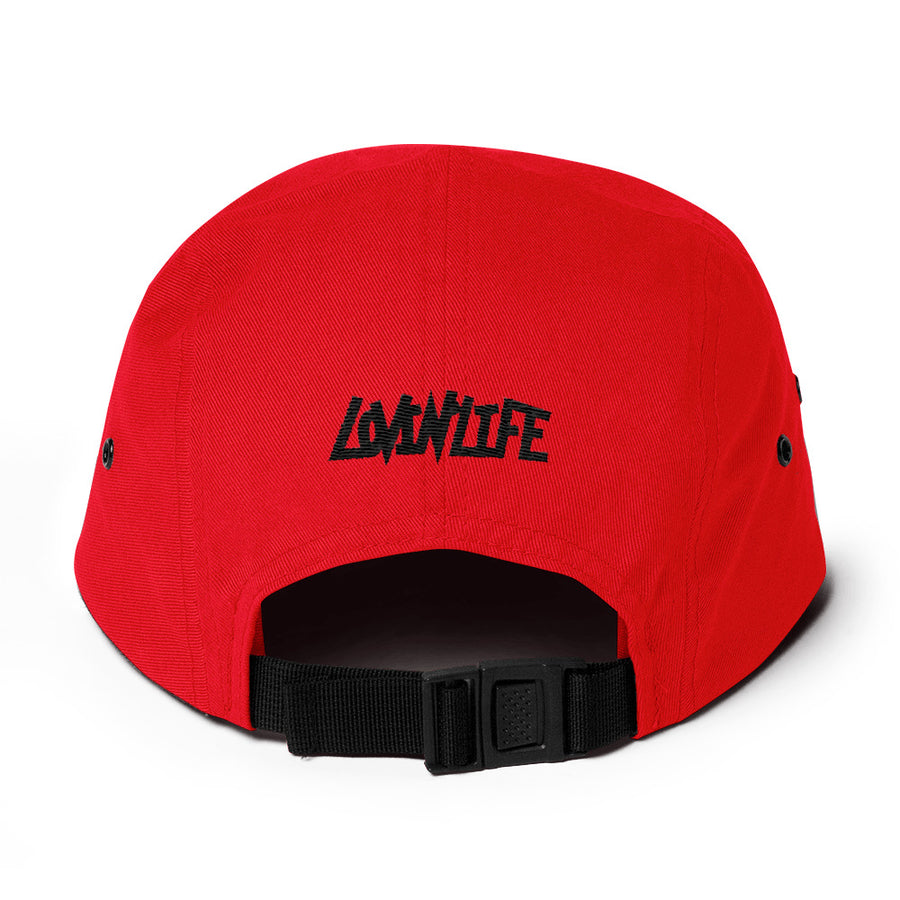 Lovin' Life - SELF LOVE - red heart/blac Five Panel Cap