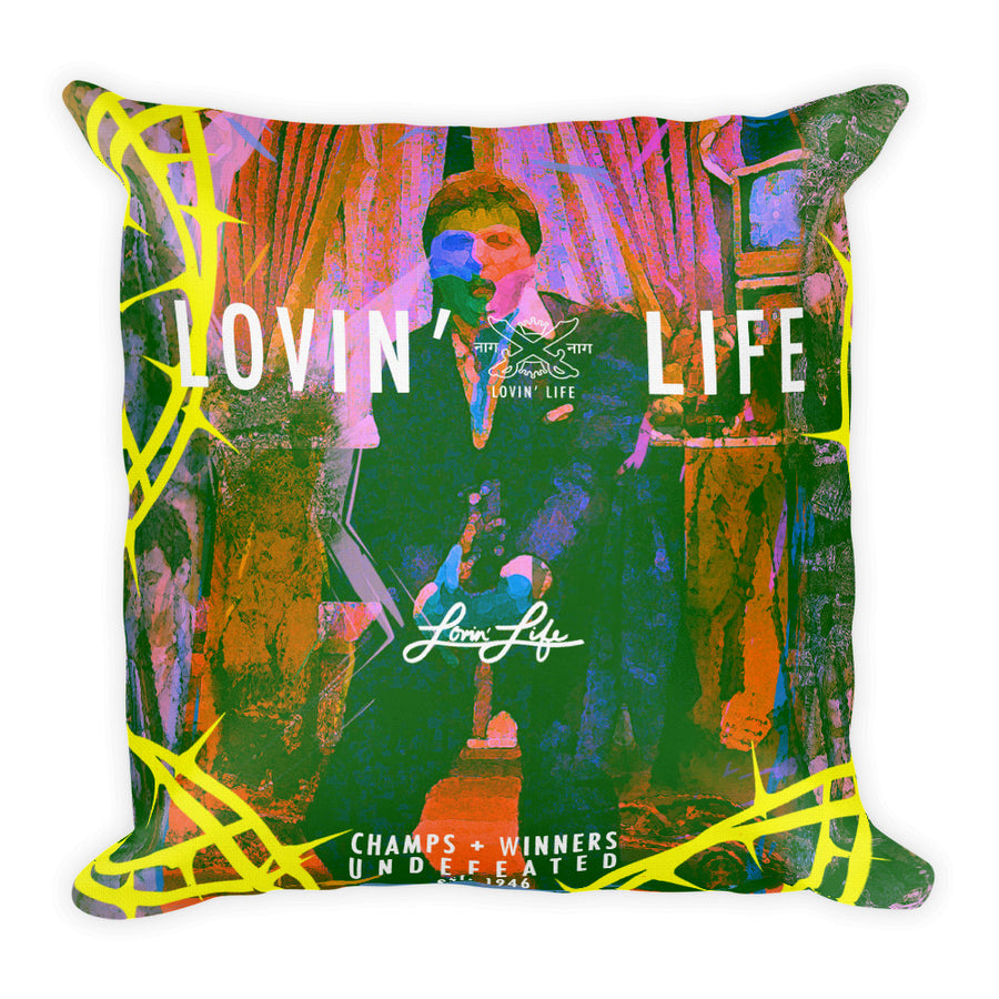 LOVIN' LIFE SAY HELLO Premium Pillow