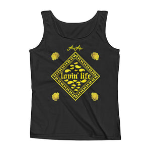 Ladies' Rosey Yellow Tank