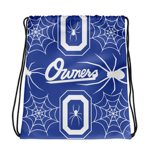 OWNERS X LOVIN' LIFE - FULL PRESS COLLECTION - Drawstring bag - blu
