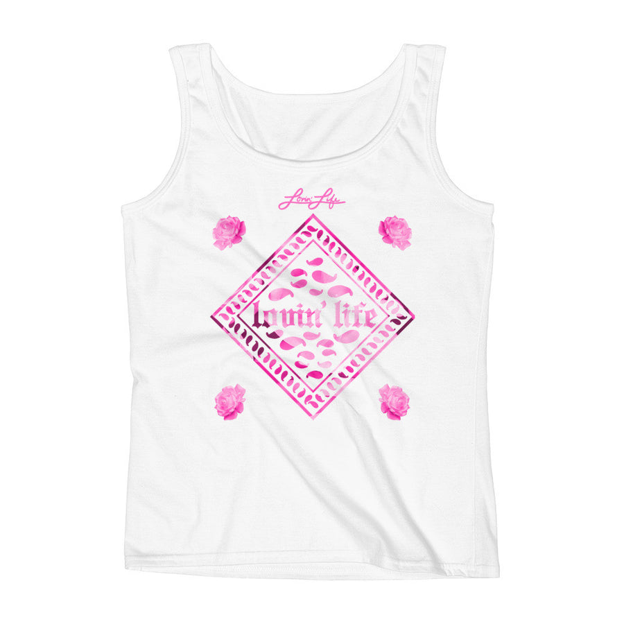 Ladies' Rosey Pink Tank