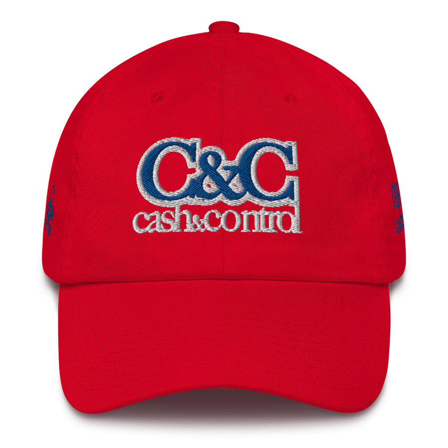 C&C red stripe DAD HAT