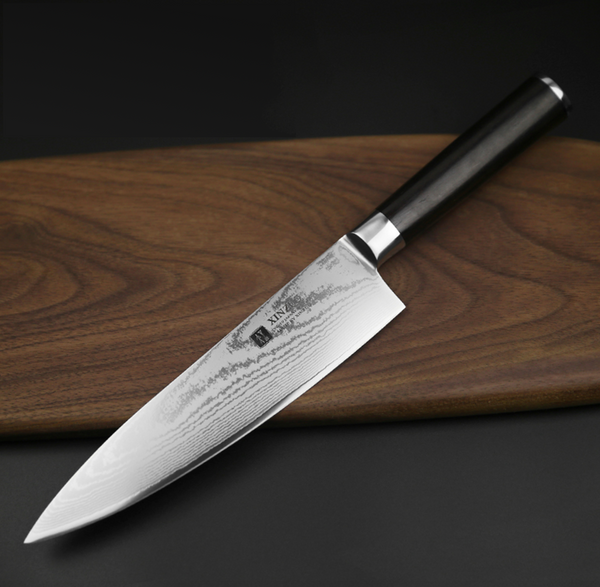 "8"" Stainless Steel Damascus Chef Knife"