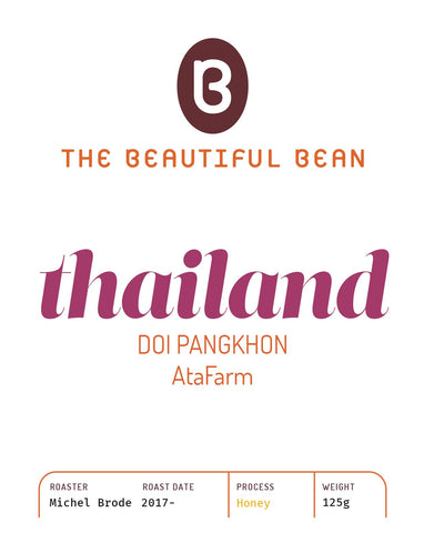 125g-Thailand Doi Pangkhon, Ata Farm - Honey process