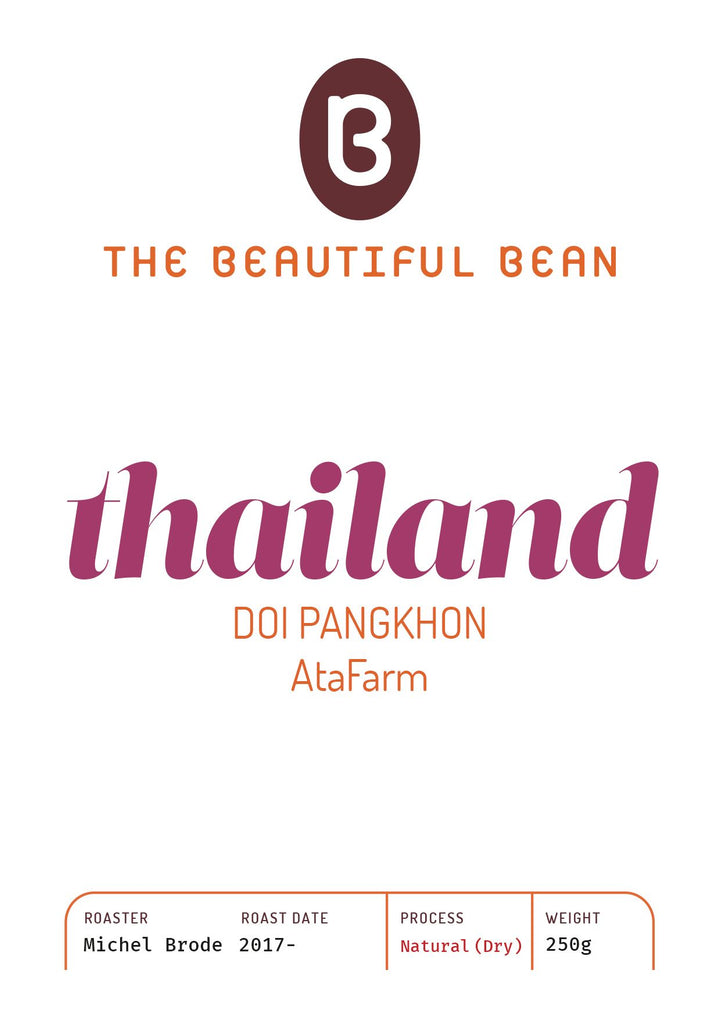 250g-Thailand Doi Pangkhon, Ata Farm - Natural (Dry) process