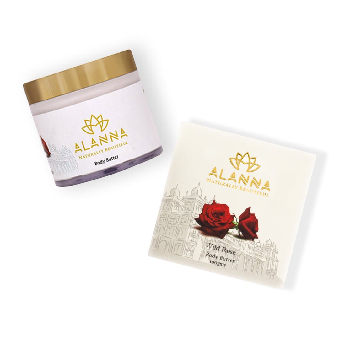Light Weight yet Rich & Creamy Wild Rose Body Butter with SPF, 100 g