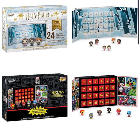 Harry Potter Advent Calendar.Coming Soon Marvel And Harry Potter Funko Advent Calendars Ozzie