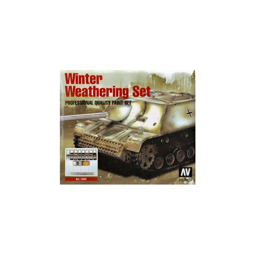 Vallejo Model Colour Winter Weathering Set + Instructions Box Set