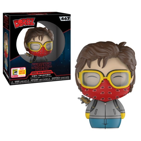 Stranger Things - Steve with Bandana Dorbz 2018 Funko Store San Diego Summer Convention Exclusive - Ozzie Collectables